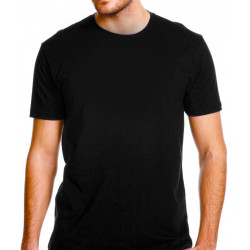 super test Black T-Shirt ciao ciao